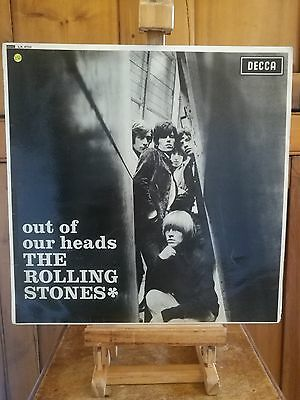 Rolling Stones - Out Of Our Heads. Vinyl Lp. First Press. Vg Condition