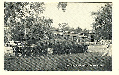 Military Lot 17  Vintage WW1 ~ Camp Devens OFFICERS' MESS ~ Ayer, MA