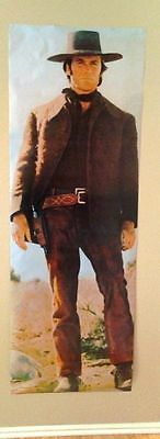 "Clint Eastwood Large Poster Door Size Pale Rider 26"" X 73"""