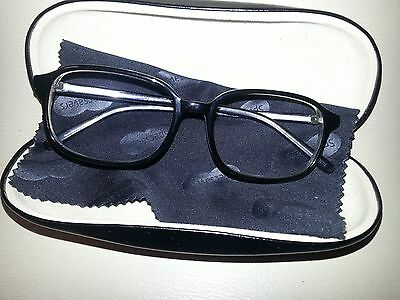 SpecSavers Eyeglasses Unisex Frames / With SpecSavers Case + Lens Cloth / New