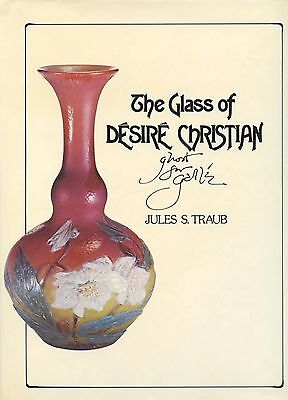 French Galle / Desire Christian Cameo Art Glass / Scarce Illustrated Book