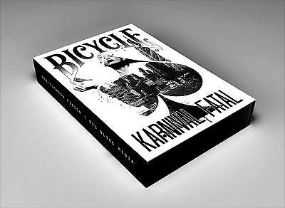 Bicycle Karnival Fatal Playing Cards - LTD EDITION - NEW for 2017