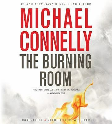 THE BURNING ROOM (A Harry Bosch Novel) unabridged audio CD by MICHAEL CONNELLY