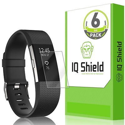 Screen Protector For Fitbit Charge 2 HR 6 Pack Anti Bubble Film Shield Fitbit