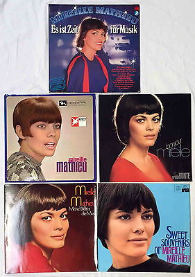 9xLP – LOT /  MIREILLE MATHIEU  / TOP!
