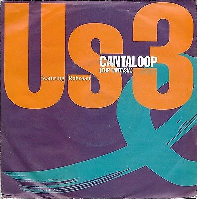 """US3 - Cantaloop 7"""" record Blue Note CL 672"""