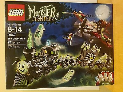 LEGO Monster Fighter 9467 The Ghost Train