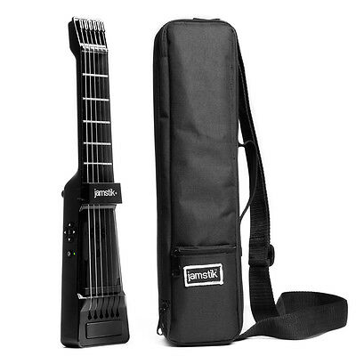 jamstik+ SmartGuitar MIDI Controller in BLACK & Case Bundle