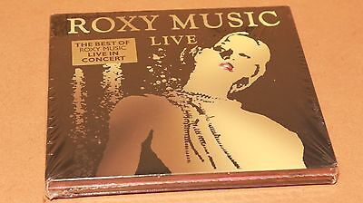 Brand New & Sealed Roxy Music Live in Concert 2 CD Double Album Collection