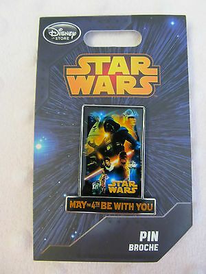 Disney Pin - Disney Store - May The 4th Be With You - New