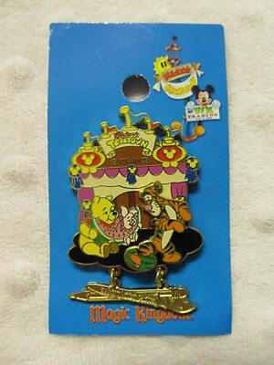 Disney Pin - Mickey's Toontown of Pin Trading Event - Pooh Picnic - LE1000 New