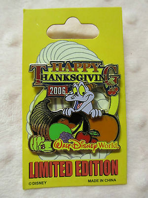 Disney Pin - Happy Thanksgiving 2006 - Figment - LE New