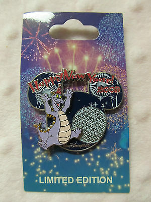 Disney Pin - Happy New Year 2009 - Figment - LE New