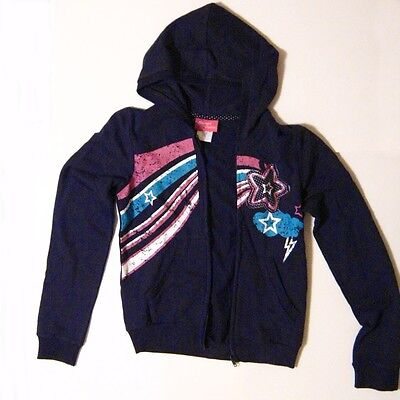Children Hooded jacket outfit zip sport Maximum Overdrive Star size 14