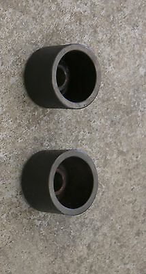 "Pair of Small AccuTurn / Bosch Small Bell Cone Adapter Brake Lathe 1"" 434776"