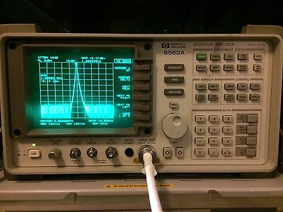 HP Agilent Spectrum Analyzer 9 KHz - 22 GHz Analyser