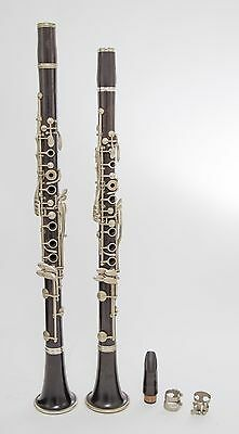 RARE 1887 Buffet Paris Bb and A Matched Set Clarinets, Used #taylormusic