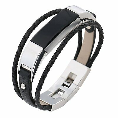 For Fitbit Alta Alta HR Bayite Leather Straps Bands Alta Replacement Bracelet
