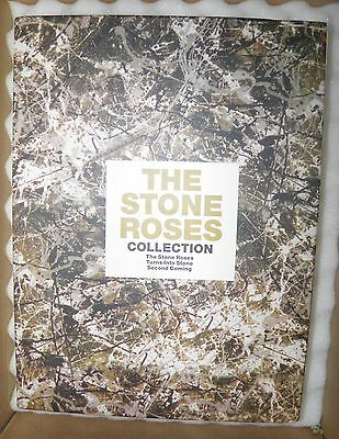 Stone Roses Official Guitar Tablature Tab Box Set Both LP's & Turns in to Stone