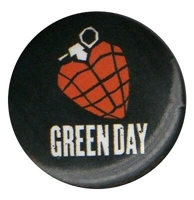 Green Day American Idiot 1 inch Button Pin Badge
