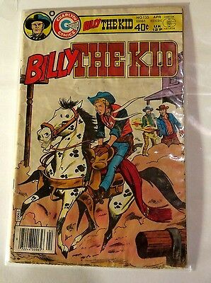 Billy the Kid #135 Charlton Comics Bronze Age  CB1963