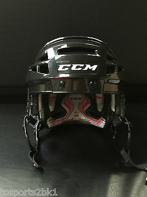 New CCM V10 Helmet - Black - Small
