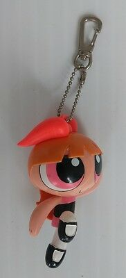Powerpuff Girls Blossom Figure Keychain Backpack Clip - 1999 Cartoon Network