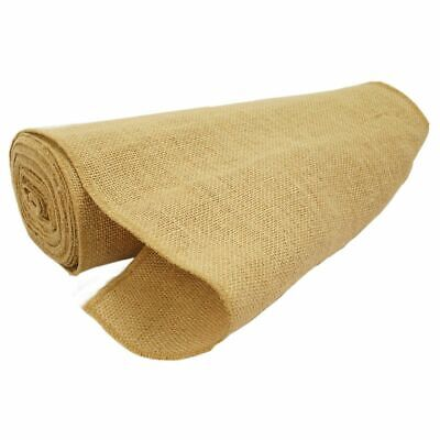 Burlap Hessian Material Roll 36cm x 10m Wedding Table Runners Rustic Decor