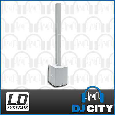 LD Systems Maui28 Gen2 White Column Array Speaker System with Mixer & Bluetooth