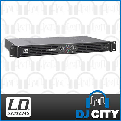 LD Systems XS700 Power Amplifier Class-D PA DJ Power Amp 700W into 8 Ohms