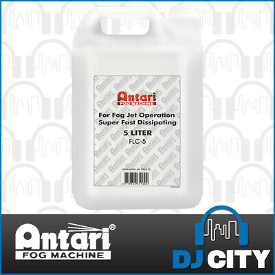 Antari FLC-5 Fast Dissipating Fog Fluid for Antari Smoke Machines - Water Based