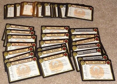 AEG L5R Clan War - Phoenix Clan Unit Cards - Over 50 Cards Included - OOP HTF