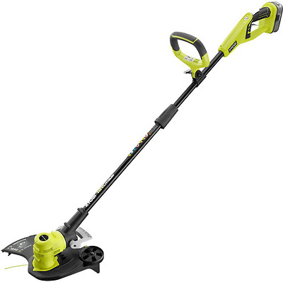 Ryobi ONE+ 18-Volt Lithium-Ion Electric Cordless String Weed Trimmer and Edger