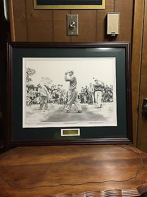 """1953: """"The Hogan Year"""" 489/3500  Print w/The Masters, British Open, US Open Win"""