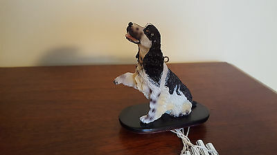 English Springer Spaniel Dog Wind Chimes New In Box