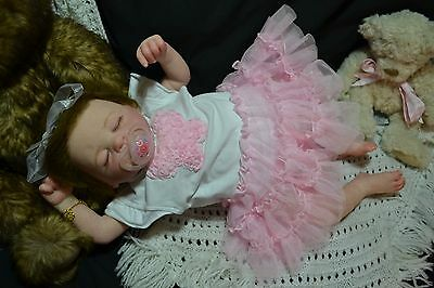 Cute Reborn Baby Girl Doll KRISTA was Lucy by Marissa May COMPLETED BABY