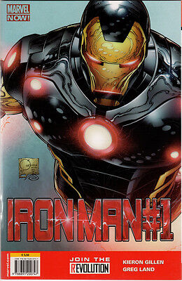 Iron Man n.1 VARIANT Marvel Now! , Marvel Italia