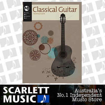 AMEB Classical Guitar Technical Workbook 2011 Current Edition Book *BRAND NEW*