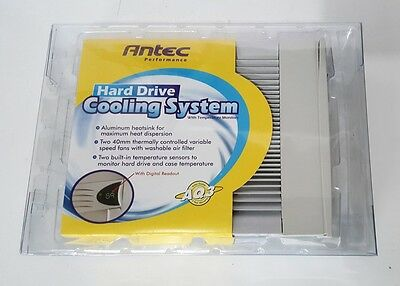 """Antec 5.25in Bay HDD Hard Drive Temperature Cooler With Display  for 3.5"""" HDD"""