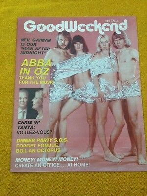 ABBA   Good Weekend Magazine COVER STORY  18 / 2 / 17 Aust. Mag