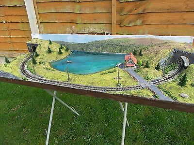 Table Top Layout With Two Scenes By Mountain Lake Model Railways In N Gauge