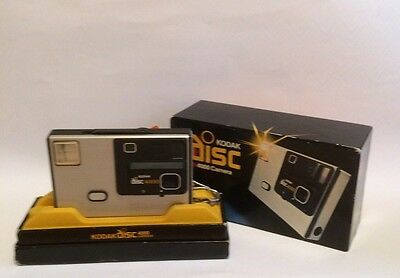 Kodak Disc 4000 camera - boxed with manual