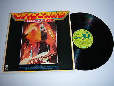 WIZZARD See My Baby Jive LP vinyl 1st A2/B1 UK 1974 Harvest ROY WOOD/THE MOVE