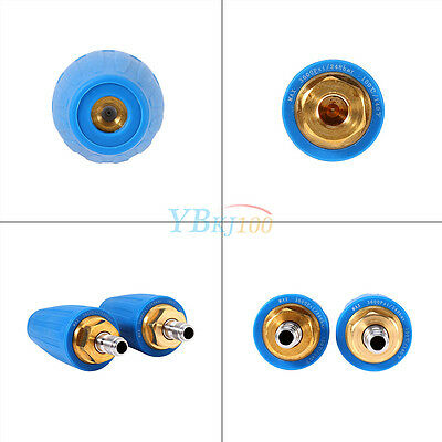 Washer Turbo Nozzle for High Pressure Water Cleaner 3600PSI GPM 2.5 3.5 4.0 Blue