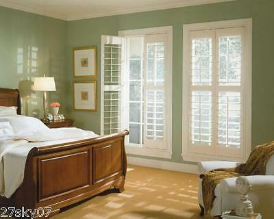 PVC plantation shutter / Wood / Buy direct from Factory