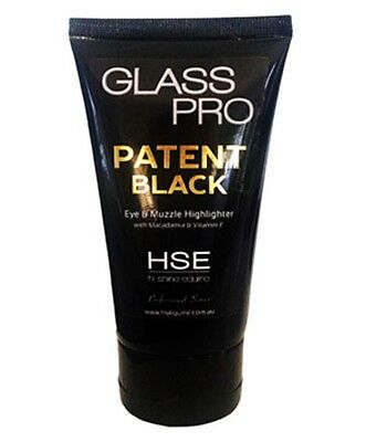 Hi Shine Equine Patent Black Make Up 100ml Show Prep Horse Pony
