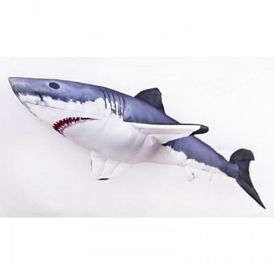 Great White Shark Cushion 120cm pillows, toys or ornaments gift