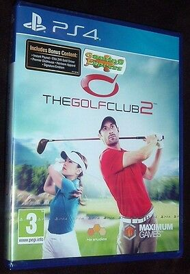 The Golf Club 2 Playstation 4 PS4 NEW SEALED