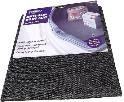 New Car Boot Anti - Slip Rubber Mat 100cm x 80cm