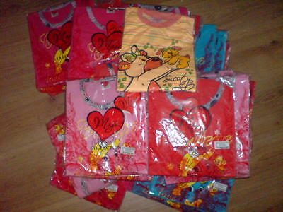 30X girls  pyjamas size 86-128cm bundle new joblot wholesale